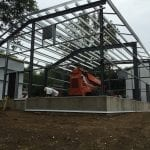 Steelsmith-Steel Building-Garage Framing-Sabo Garage