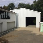 Steelsmith-Steel Building-Garage Front-SaboGarage